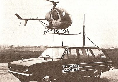 Original radio car with Helicopter 417