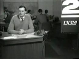 Gerry Priestland reading on BBC 2
