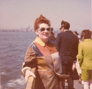 Doris Boat Trip Manhatten Easter 1968