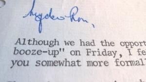Attenborough letter